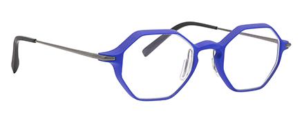 Optique impression 3D haute résolution vm l atelier créateur hexagonale bleue